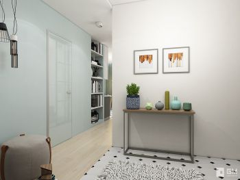 Дизайн однокомнатной квартиры 43 кв. м — всё в одном с открытым характером
