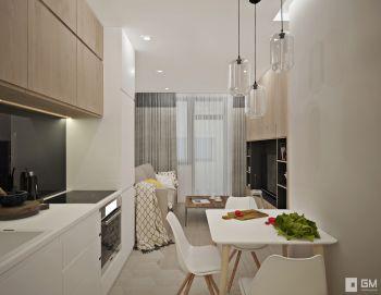 Дизайн квартиры в ЖК Водный для двоих