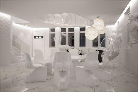Дизайн проект таунхауса для Лены Лениной от дизайн студии GM-interior
