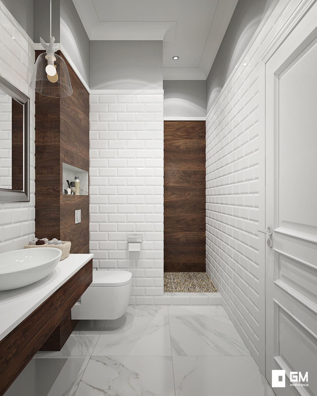 Плитка кабанчик в ванной фото дизайн