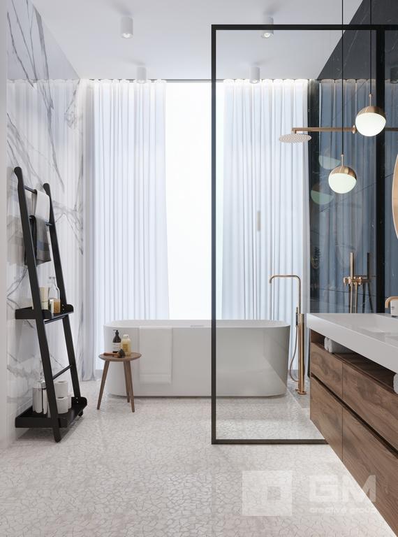Дизайн-проект для создания индивидуальной среды, где все элементы от комфорта до эстетики сплетаются в одно целое современное и стильное пространств от студии дизайна GM-Interior