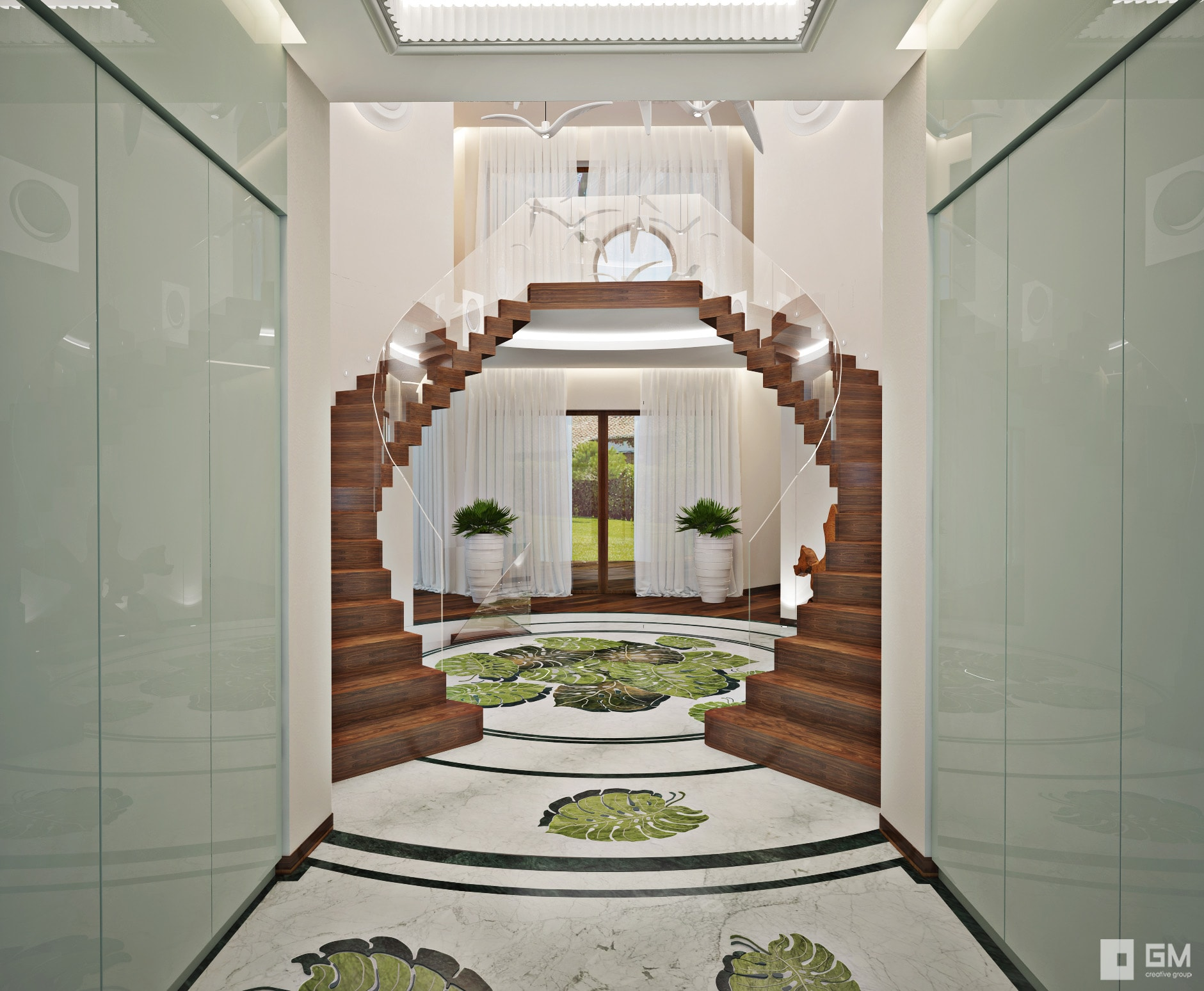 Эксклюзивный и очаровательный дизайн дома для отдыха в Испании от студии дизайна GM-Interior