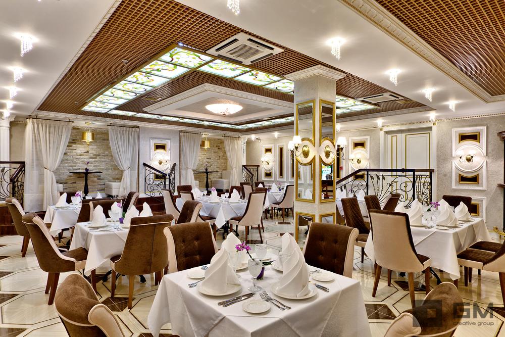 Дизайн интерьера ресторана от студии дизайна GM-INTERIOR