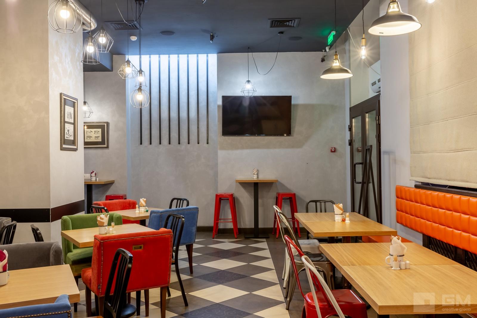 Дизайн проект пивного ресторана в стиле лофт. Стильный интерьер с дизайнерскими идеями от студии дизайна GM-interior