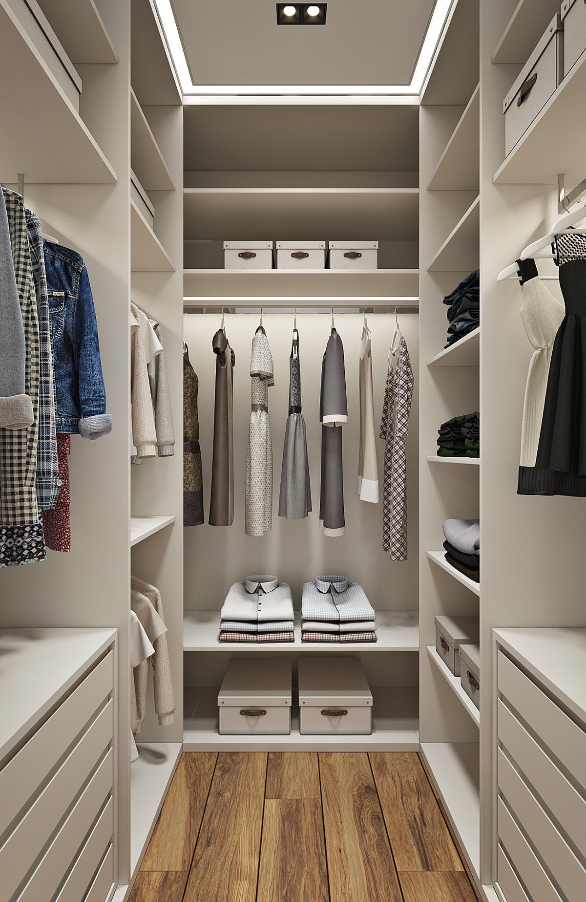 Дизайн двухкомнатной квартиры ЖК Фили Град от студии дизайна GM-INTERIOR
