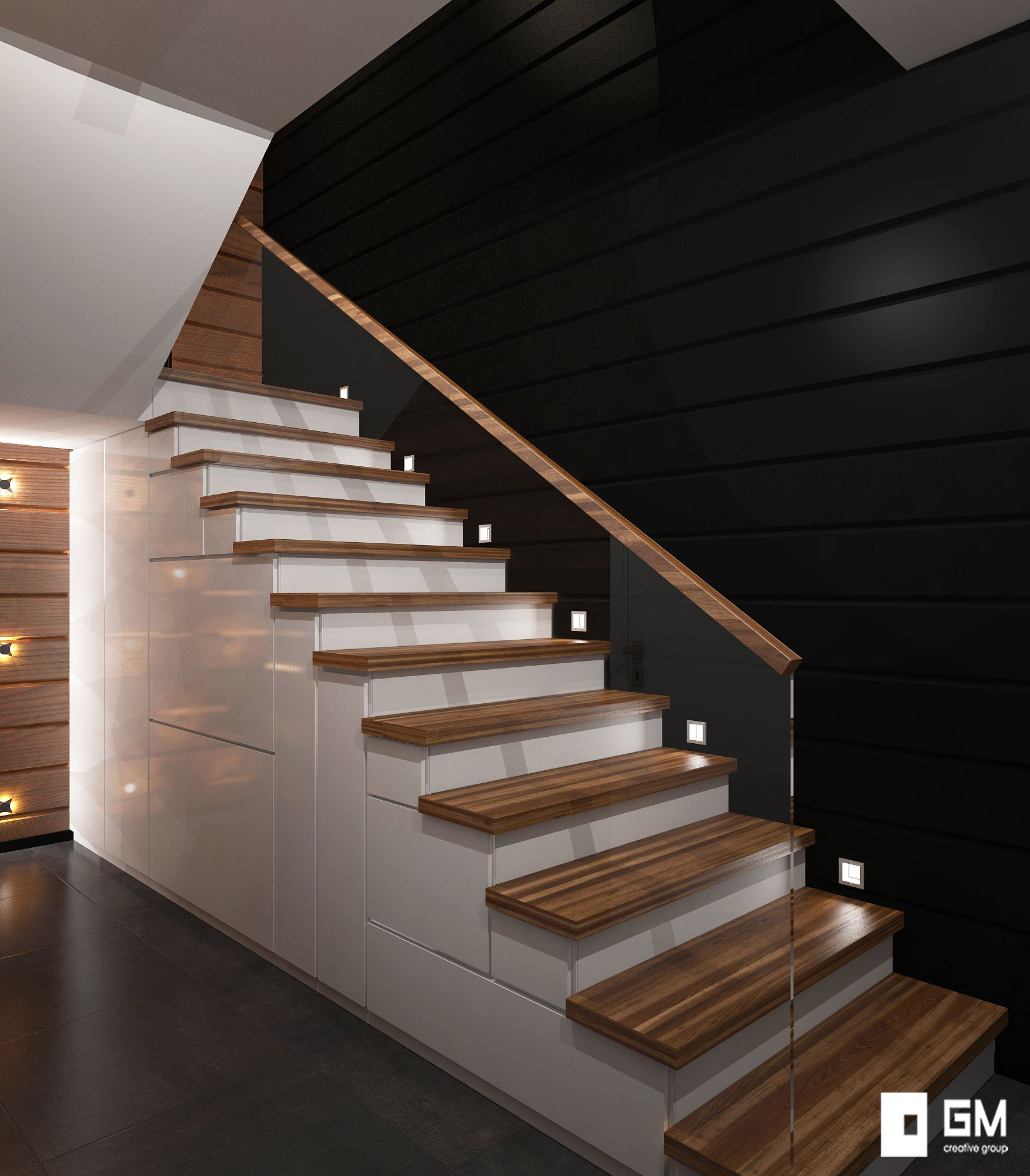 Дизайн интерьера деревянного дома в Немчиновке от студии дизайна GM-INTERIOR