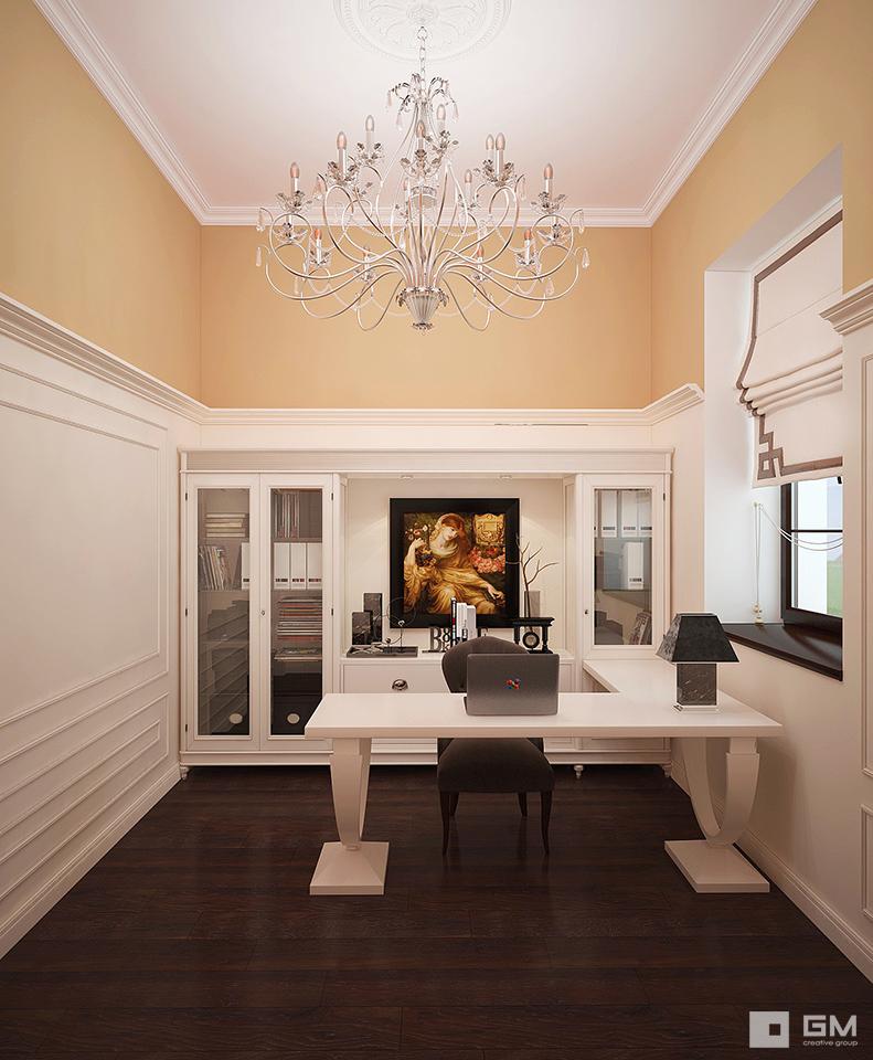 Дизайн дома в классическом стиле от студии дизайна GM-INTERIOR