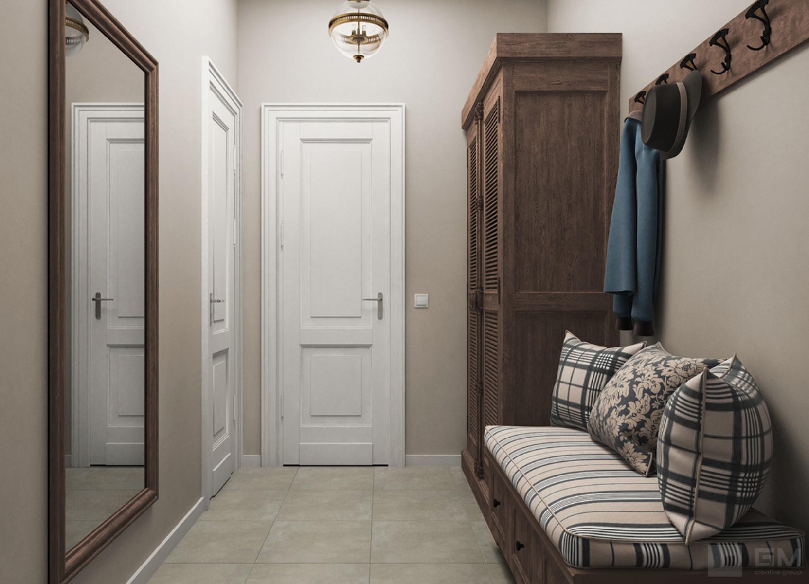 Дизайн-проект загородного дома в стиле кантри для стильной и современной семьи от студии дизайна GM-Interior