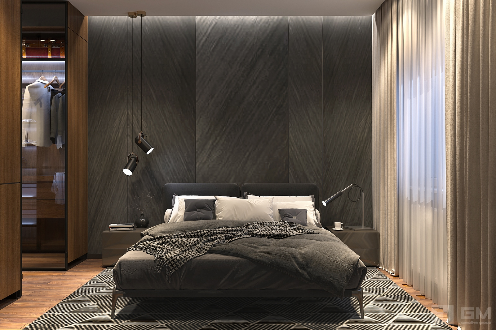 Дизайн квартиры в ЖК RedSide