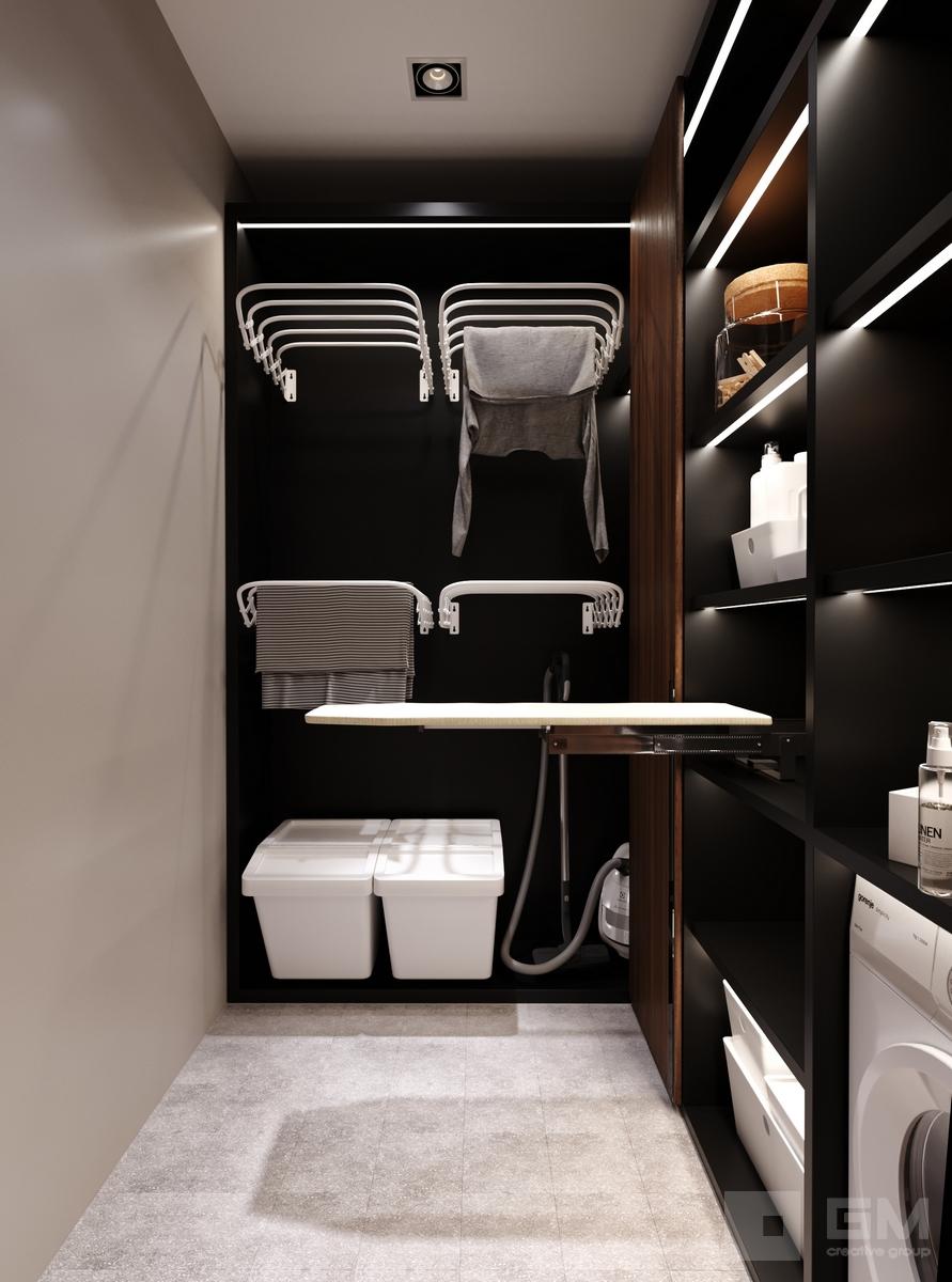 Дизайн интерьера таунхауса в КП Футуро Парк от студии дизайна GM-INTERIOR