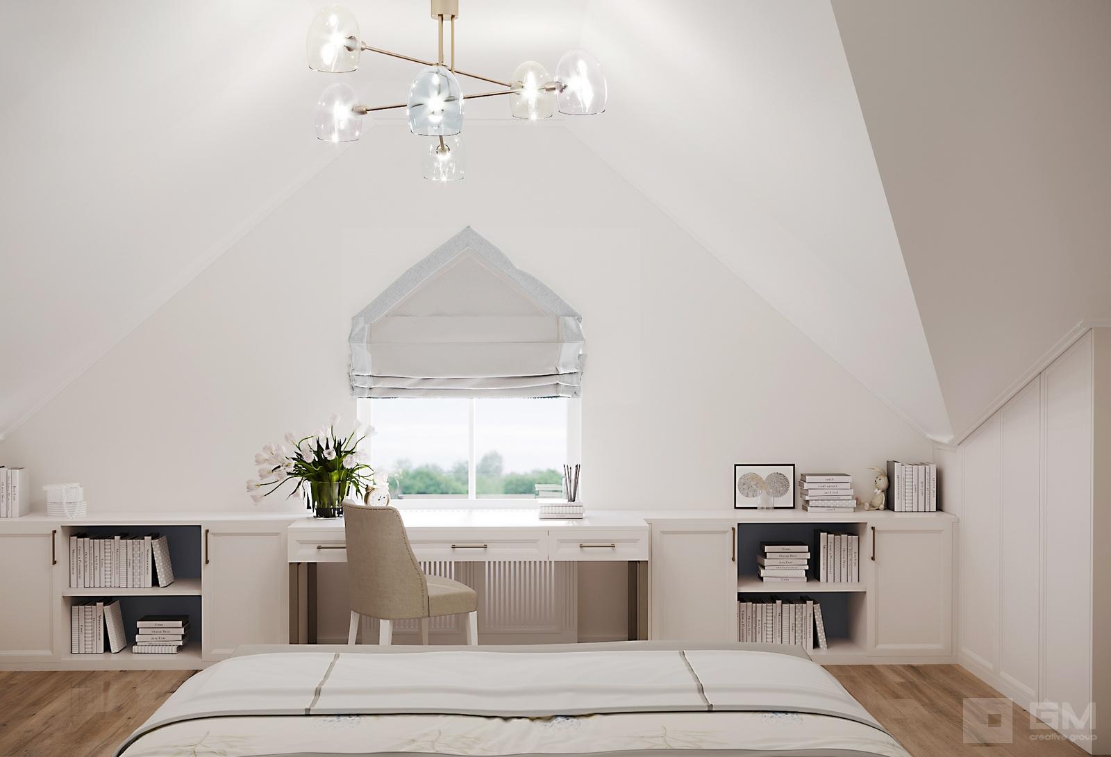 Стильный дизайн интерьера таунхауса в коттеджном поселке Кембридж от студии дизайна Gm-Interior