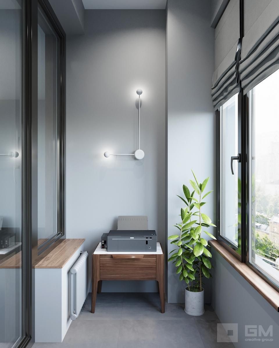 Дизайн трёхкомнатной квартиры в ЖК Родной Город Воронцовский парк | Студия дизайна GM-Interior