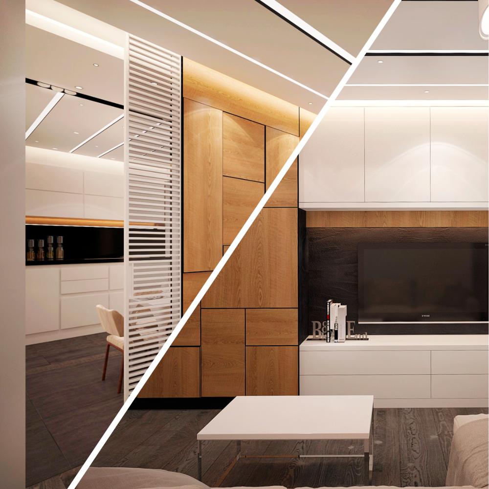 Эффективное использование пространства в дизайне интерьера квартир