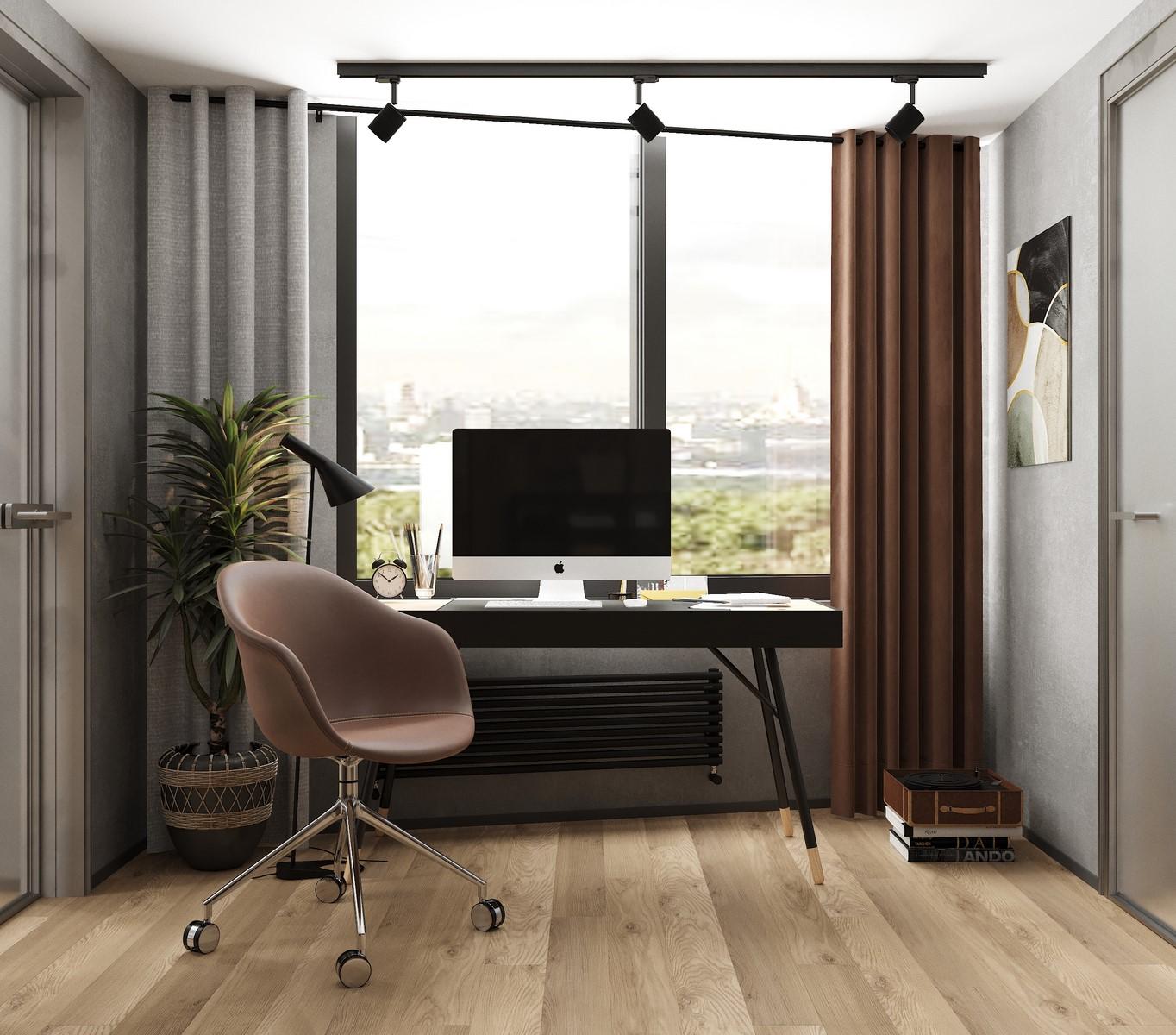 Дизайн квартиры с атрибутами стиля Лофт в  ЖК Счастье на Пресне | Дизайн-студия GM-INTERIOR