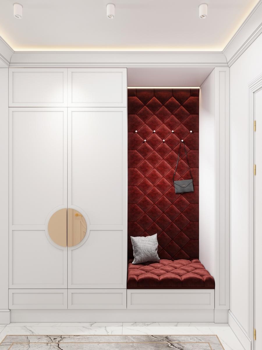 Дизайн проект квартиры в ЖК Прайм Парк от дизайн-студии GM-interior